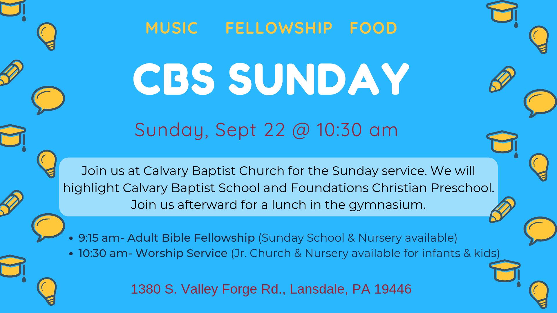 Calvary Baptist School | Lansdale, PA